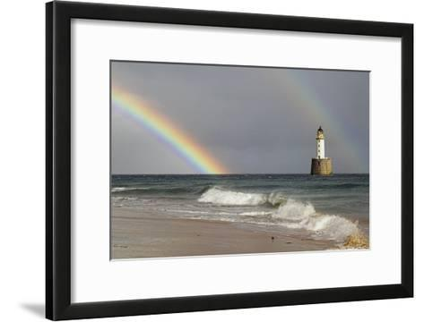 Rainbow And a Lighthouse-Duncan Shaw-Framed Art Print