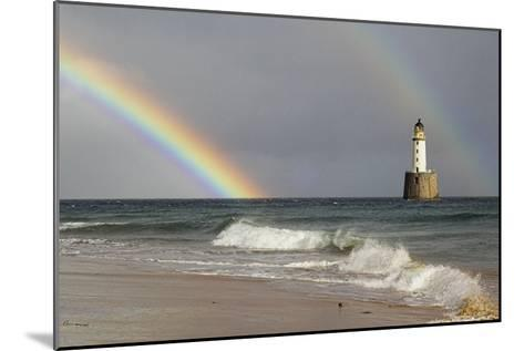 Rainbow And a Lighthouse-Duncan Shaw-Mounted Photographic Print