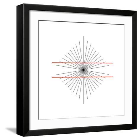 Hering Illusion-Science Photo Library-Framed Art Print
