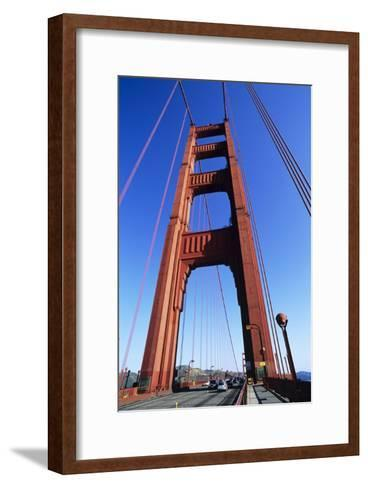 Golden Gate Bridge-Alan Sirulnikoff-Framed Art Print