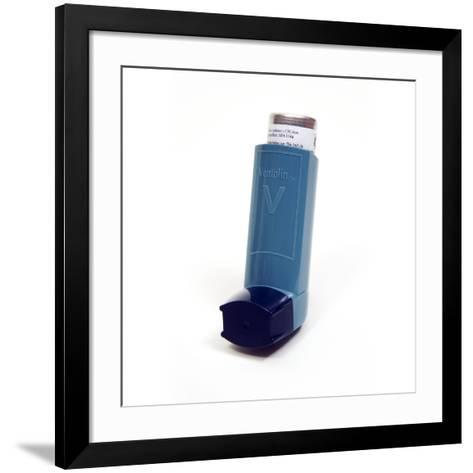 Asthma Inhaler-Mark Thomas-Framed Art Print