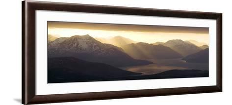 West Highland Coastline-Duncan Shaw-Framed Art Print