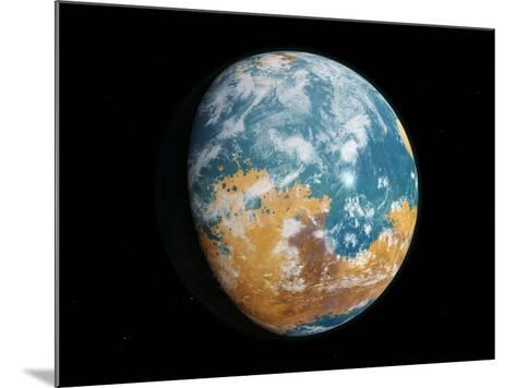 Water on Mars In Its Past-Joe Tucciarone-Mounted Photographic Print