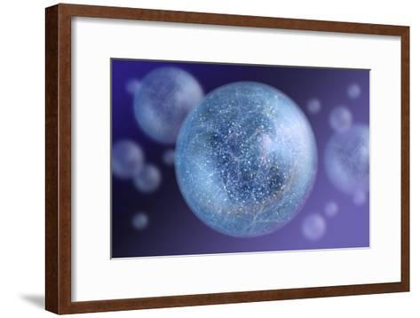 Bubble Universe, Artwork-Detlev Van Ravenswaay-Framed Art Print