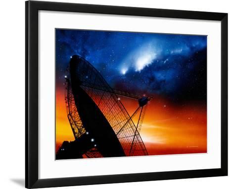 Radio Telescope-Detlev Van Ravenswaay-Framed Art Print