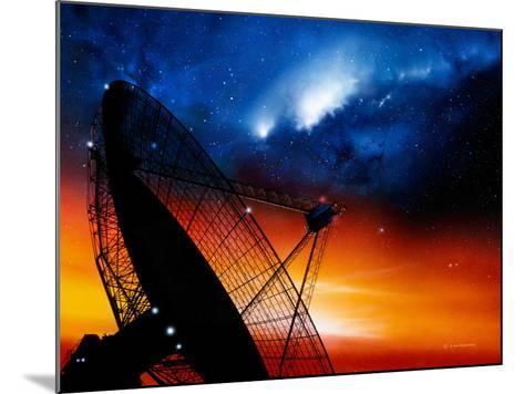 Radio Telescope-Detlev Van Ravenswaay-Mounted Photographic Print