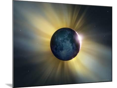 Total Solar Eclipse-Detlev Van Ravenswaay-Mounted Photographic Print