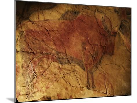 Altamira Cave Painting of a Bison-Javier Trueba-Mounted Photographic Print