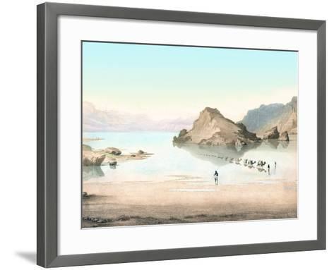Desert Mirage, 1854 Artwork-Detlev Van Ravenswaay-Framed Art Print