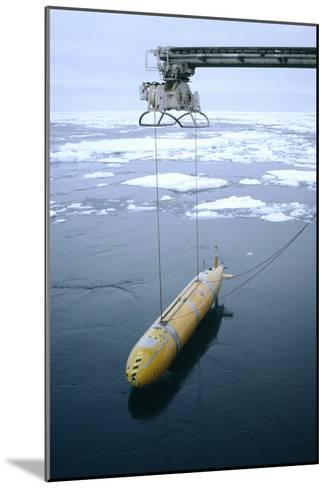Autonomous Underwater Vehicle (Autosub)-David Vaughan-Mounted Photographic Print