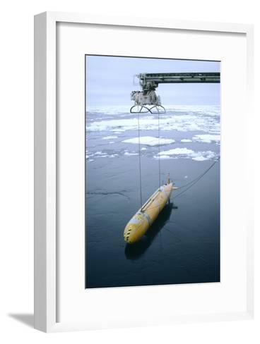 Autonomous Underwater Vehicle (Autosub)-David Vaughan-Framed Art Print