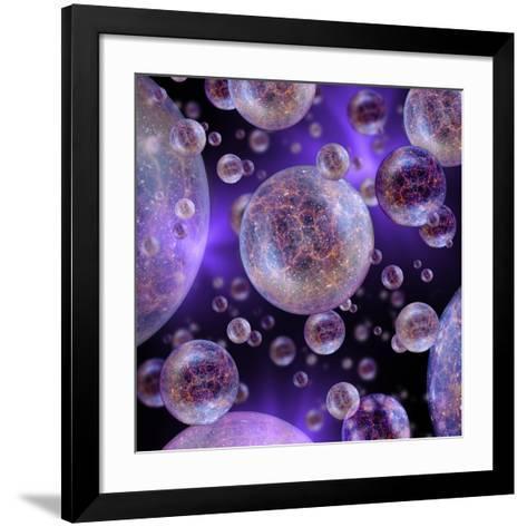 Multiverse, Artwork-Detlev Van Ravenswaay-Framed Art Print