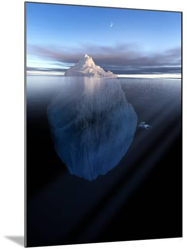 Iceberg, Artwork-Detlev Van Ravenswaay-Mounted Photographic Print