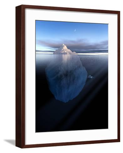 Iceberg, Artwork-Detlev Van Ravenswaay-Framed Art Print
