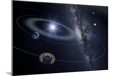 Solar System, Artwork-Detlev Van Ravenswaay-Mounted Photographic Print