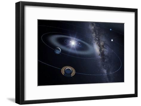 Solar System, Artwork-Detlev Van Ravenswaay-Framed Art Print