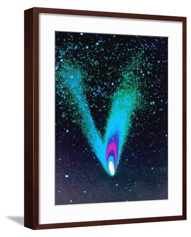 Comet Hale-Bopp-Detlev Van Ravenswaay-Framed Art Print