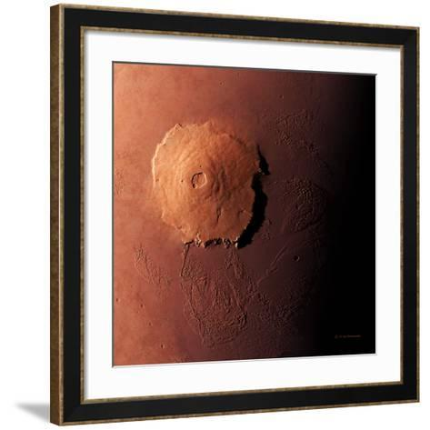 Olympus Mons, Morning View-Detlev Van Ravenswaay-Framed Art Print