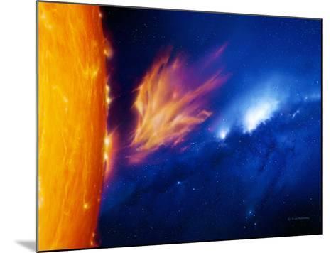 Solar Flare-Detlev Van Ravenswaay-Mounted Photographic Print