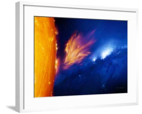 Solar Flare-Detlev Van Ravenswaay-Framed Art Print