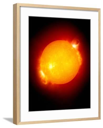 Active Sun-Detlev Van Ravenswaay-Framed Art Print