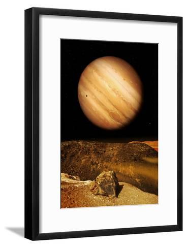 Jupiter From Io-Detlev Van Ravenswaay-Framed Art Print