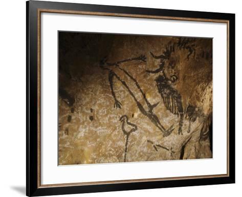 Stone-age Cave Paintings, Lascaux, France-Javier Trueba-Framed Art Print
