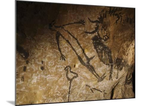 Stone-age Cave Paintings, Lascaux, France-Javier Trueba-Mounted Photographic Print