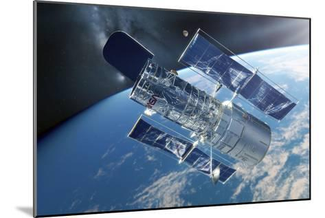 Hubble Space Telescope, Artwork-Detlev Van Ravenswaay-Mounted Photographic Print