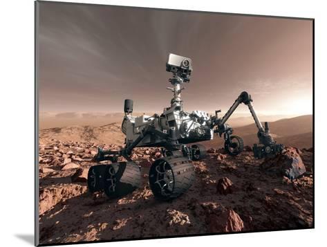 Curiosity Rover, Artwork-Detlev Van Ravenswaay-Mounted Photographic Print