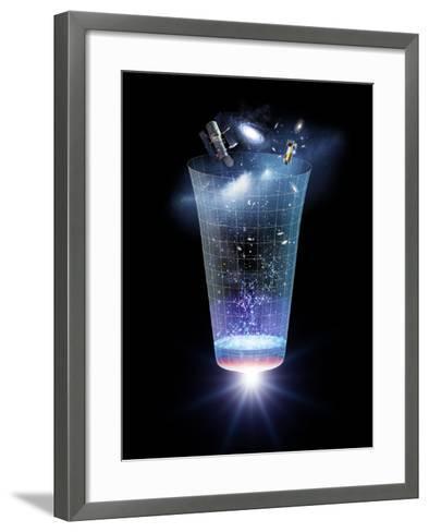 Universe Time Line, Artwork-Detlev Van Ravenswaay-Framed Art Print