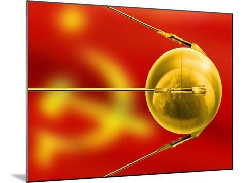 Sputnik 1, Artwork-Detlev Van Ravenswaay-Mounted Photographic Print