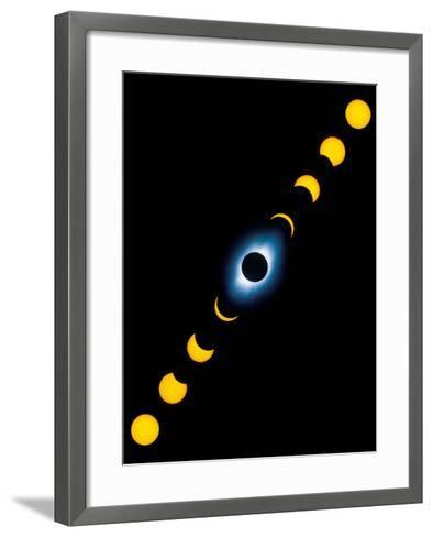 Total Solar Eclipse-Detlev Van Ravenswaay-Framed Art Print
