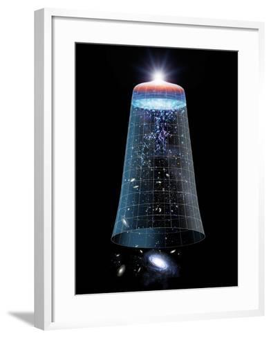 Universe Timeline, Artwork-Detlev Van Ravenswaay-Framed Art Print