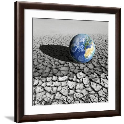 Global Warming, Conceptual Artwork-Detlev Van Ravenswaay-Framed Art Print
