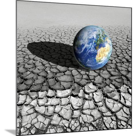 Global Warming, Conceptual Artwork-Detlev Van Ravenswaay-Mounted Photographic Print