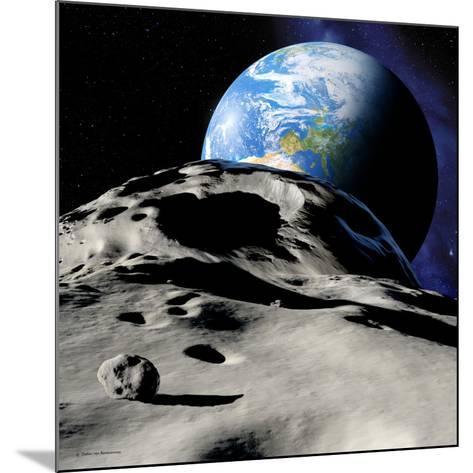 Near-Earth Asteroid-Detlev Van Ravenswaay-Mounted Photographic Print