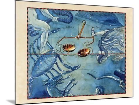 Historical Artwork of the Constellation of Libra-Detlev Van Ravenswaay-Mounted Photographic Print