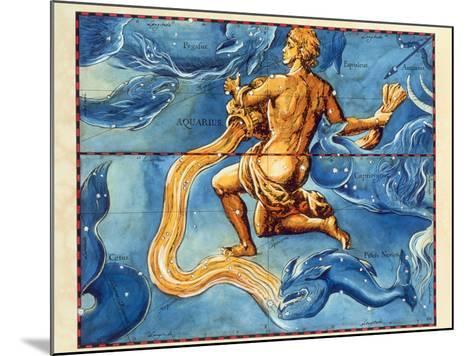 Historical Artwork of the Constellation Aquarius-Detlev Van Ravenswaay-Mounted Photographic Print