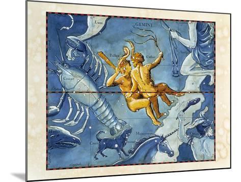 Historical Artwork of the Constellation of Gemini-Detlev Van Ravenswaay-Mounted Photographic Print