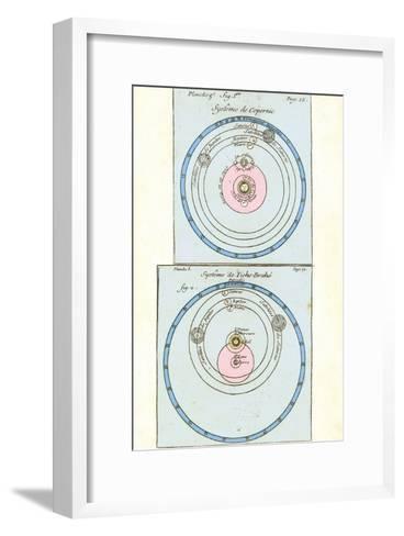 Cosmologies of Copernicus And Tycho-Detlev Van Ravenswaay-Framed Art Print