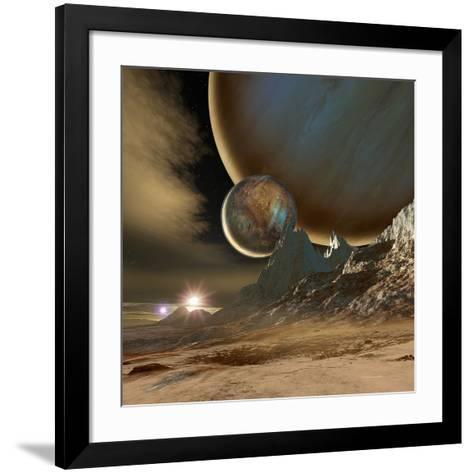 HD 188753 Planetary System-Detlev Van Ravenswaay-Framed Art Print