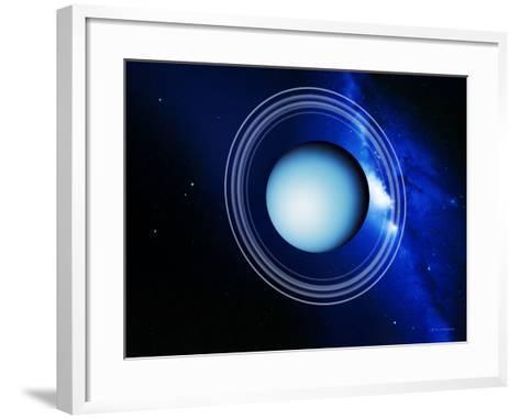 Uranus-Detlev Van Ravenswaay-Framed Art Print