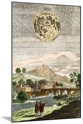 Early Map of the Moon, 1635-Detlev Van Ravenswaay-Mounted Photographic Print