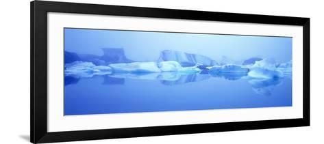 Icebergs-Jeremy Walker-Framed Art Print