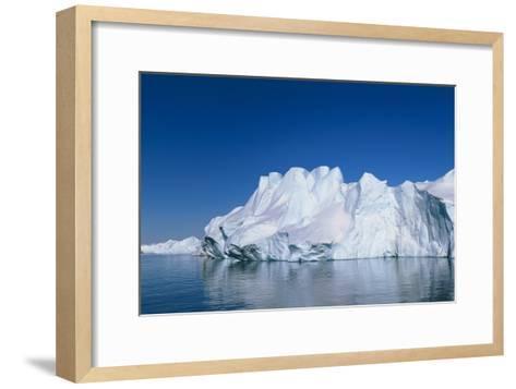 Iceberg-Jeremy Walker-Framed Art Print
