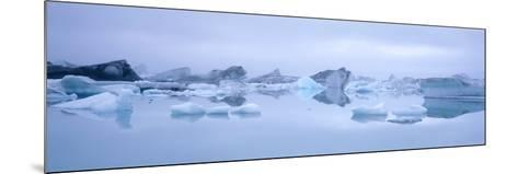Icebergs-Jeremy Walker-Mounted Photographic Print