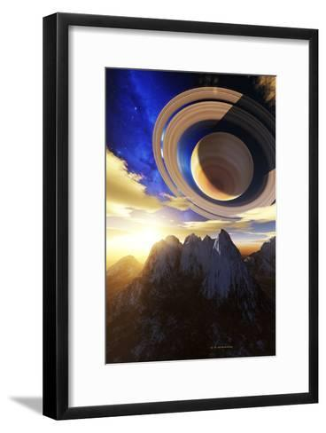 Extrasolar Planetary System-Detlev Van Ravenswaay-Framed Art Print