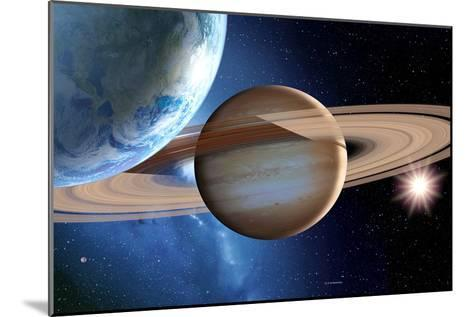 Alien Planetary System-Detlev Van Ravenswaay-Mounted Photographic Print