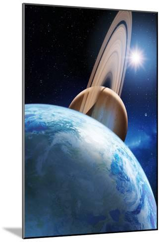 Alien Planetary System-Detlev Van Ravenswaay-Mounted Photographic Print